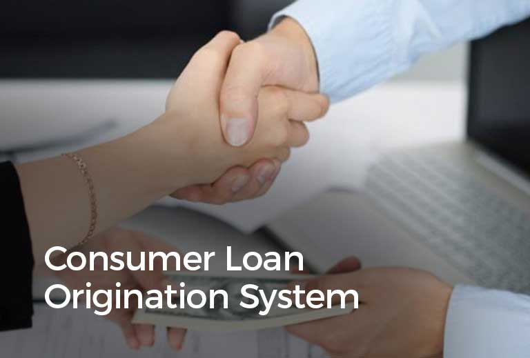 consumer loan origination system